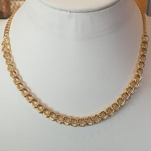 """Jewelry - 14k Gold plated link Necklace 18"""""""